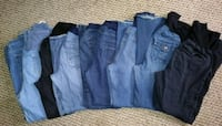 8 pairs of jeans 1 cargo Black Concord, 28027