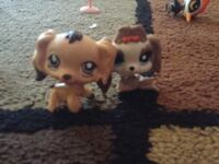 two Littlest Pet Shop two dog toys Newport, 97366