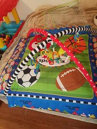 multicolored sports-themed activity mat Madera, 93638