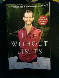 Life Without Limits by Nick Vujicic book
