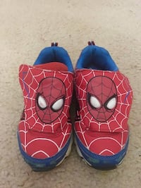Spider Man Light Up Shoes Size 10 Toddler Columbia, 21044