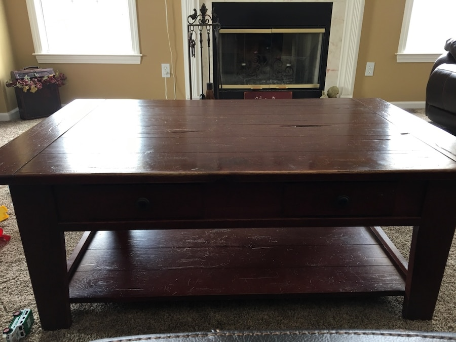 used broyhill attic heirlooms coffee table for sale in union vale rh tr letgo com
