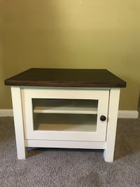 Small wooden tv table / end table
