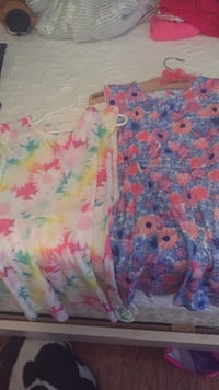 two assorted floral dresses Loxahatchee, 33470