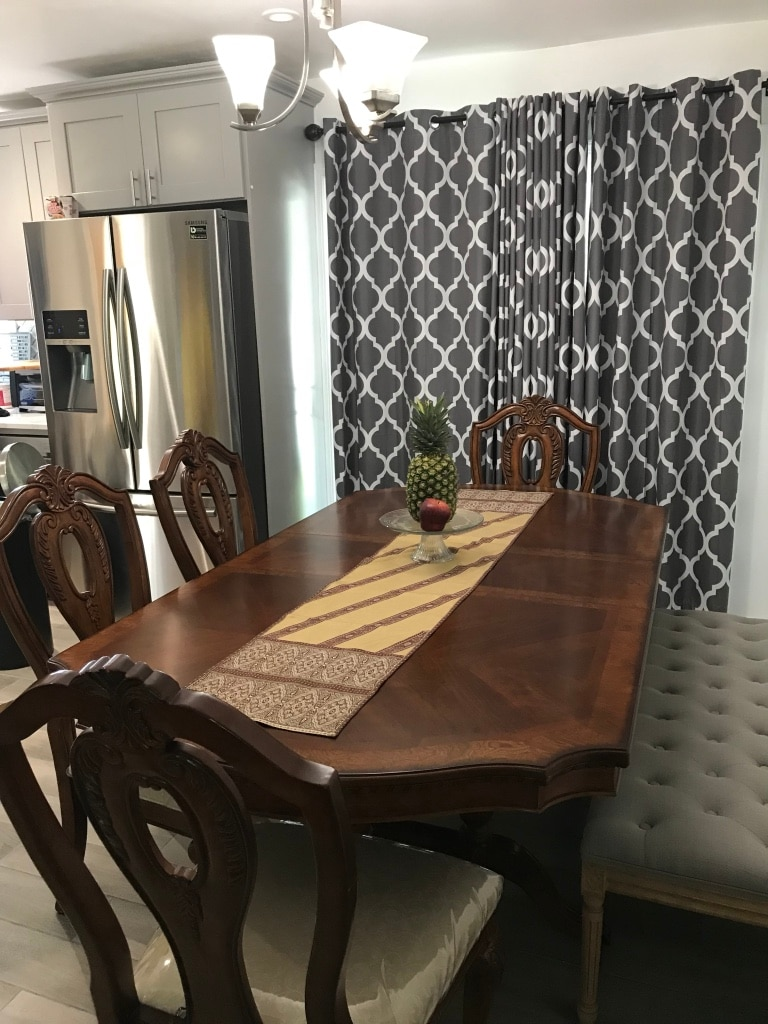 Used Dining setreal wood for sale in