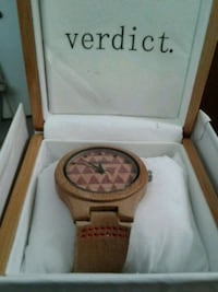 """Verdict"" jigsaw woman's watch Burtonsville, 20866"