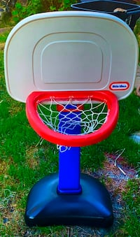 Little Tikes adjustable height BASKETBALL HOOP (ball sold separately)