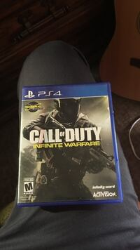 Call of Duty Infinite Warfare PS4 game case Bend, 97701