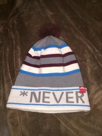 gray and white bubble knit cap Halifax, B3M 1R9
