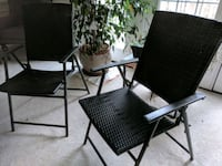 Foldable Patio/Lawn chair (wicker plastic) Alexandria, 22312