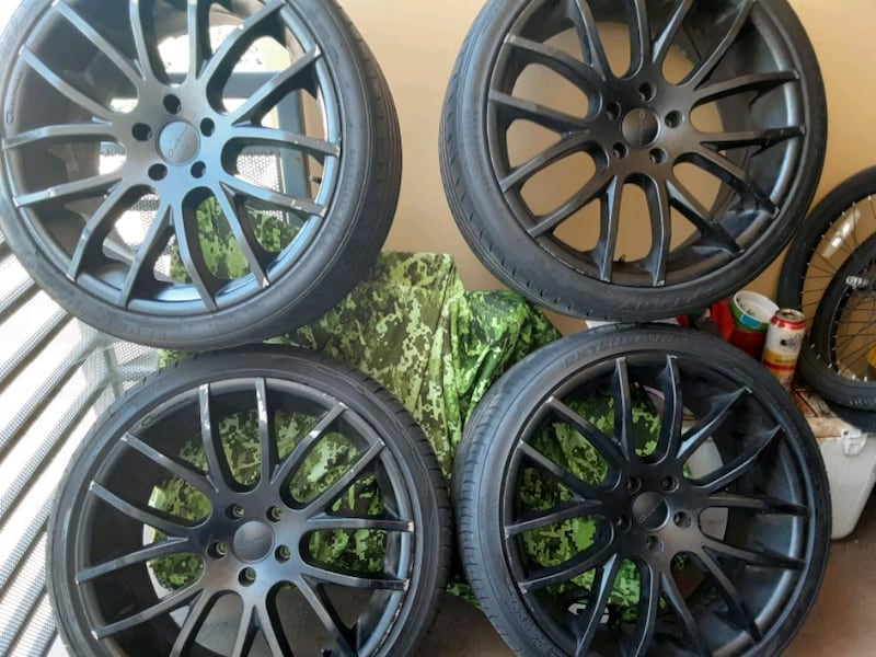 Rims Giovanna 20inch. With tires 0