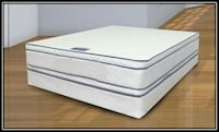 Queen mattress double pillowtop free box and deliv Gaithersburg