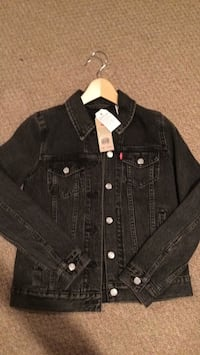black denim button-up jacket Shawnigan Lake, V0R