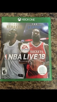 NBA live 18 Xbox One Riverside, 92504