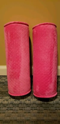Pink chenille bolsters Suwanee, 30024