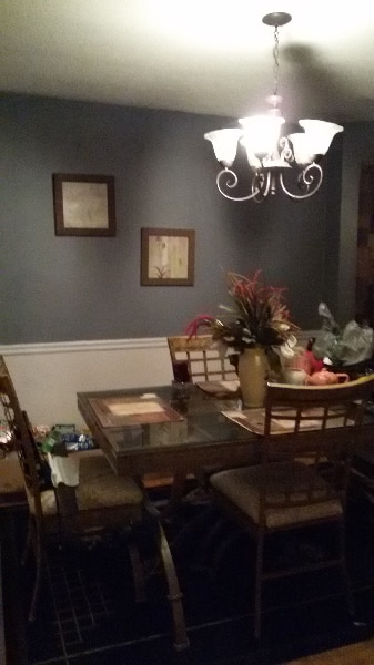 used glass and brass dinner table for sale in stone mountain letgo rh gb letgo com