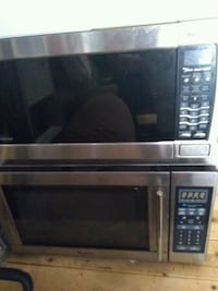 stainless steel and black microwave oven Louisville, 40291