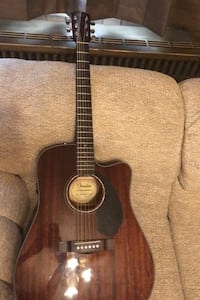 Fender acoustic electric guitar. New. Barely played..