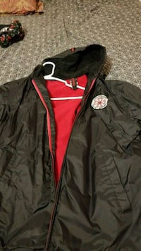 black and red zip-up jacket Waco, 76706