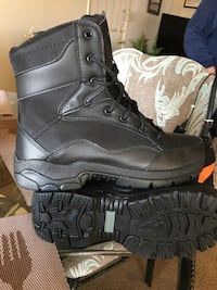 Steel toe boots Size 8 men Pulaski, 38478