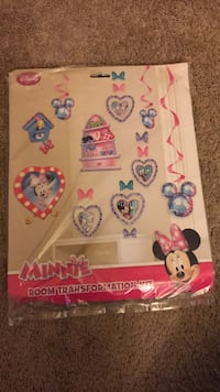 Minnie Mouse birthday kit (brand new) Richmond, 23222