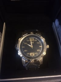 JBW watch 18k gold, real diamonds NEW Silver Spring, 20910