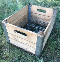 Vintage Solid Milk Crate Winchester, 22601