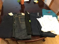 Boys Brand new jeans and shirts. Jeans size 10 shirts size Large Marina, 93933