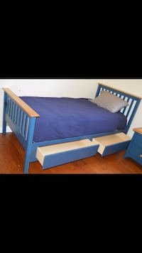 blue and white bed set Martinez, 94553