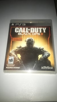 Call of Duty Black Ops 3 PS3 game case Brampton, L6T 4R1