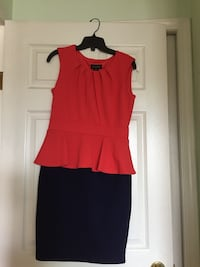 women's red and black sleeveless dress Port Coquitlam, V3C 1R8