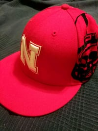 Red & White Nebraska Huskers fitted cap Richmond, 23230