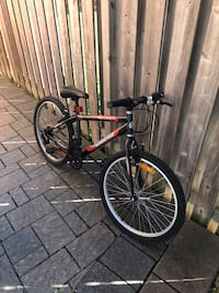 Black and red bike Vaughan, L4J 9A6