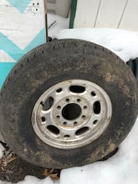 4 p265/75r16 truck tires and rims Newfoundland, 07435