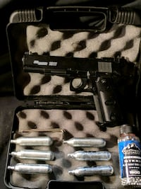 black and gray paintball marker Windham Centre, N0E 2A0