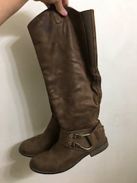 pair of brown leather knee-high boots Payson, 85541