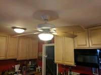 52 inch hunter ceiling fan with light Bethesda, 20817