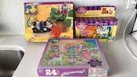 Brand new - never opened 2 puzzles and baby zebra toy ages 4+ Toronto, M8V 1A2