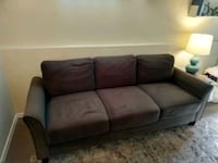 brown suede couch clean , great condition Baltimore, 21201