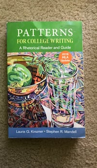 Patterns for College Writing  (2016 MLA. Update Miami, 33183