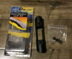 Kayak or SUP paddle holder clip NEW $10