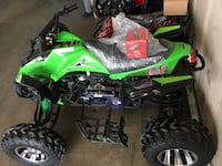 green and black atv Carrollton, 75007