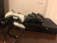 black Xbox 360 console with controller Hartford, 06106