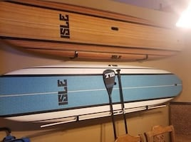 2 Isle soft top paddle boards