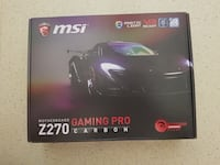 MSI Z270 GAMING PRO CARBON Intel Z270  Çankaya, 35280
