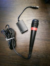 Singstar microphone and usb adapter PS3