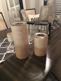 Structube Candle Holders