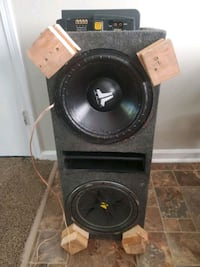 Sound system subs subwoofers Omaha, 68127