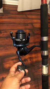 black and gray fishing reel Tamarac, 33321