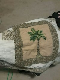 Pillow cover quilted Fort Campbell, 42223